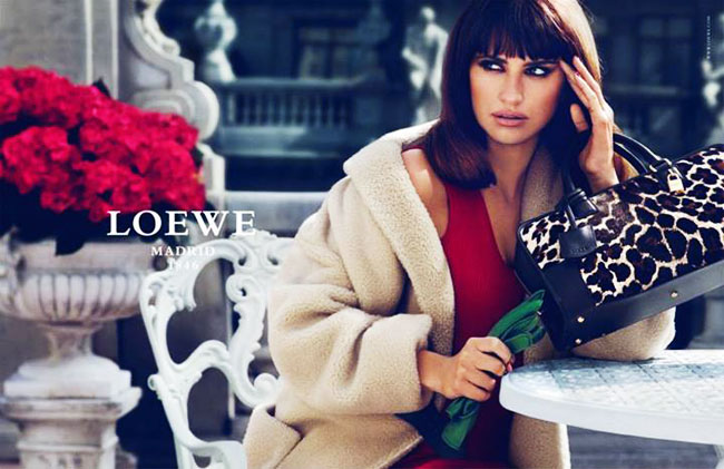 , Loewe x Penelope & Monica Cruz : Collection de Sacs Hiver 2013 2014