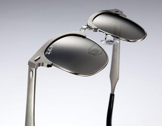 , Ray-Ban Clubmaster Aluminium : Retour des Iconiques Lunettes de Soleil