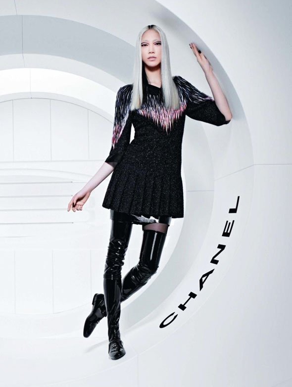 Chanel FW Hiver 2013 2014 Pub Campaign 3 - Chanel Automne Hiver 2013 2014 : Campagne en Apesanteur