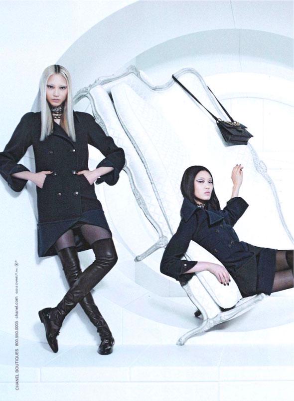 Chanel FW Hiver 2013 2014 Pub Campaign 5 - Chanel Automne Hiver 2013 2014 : Campagne en Apesanteur