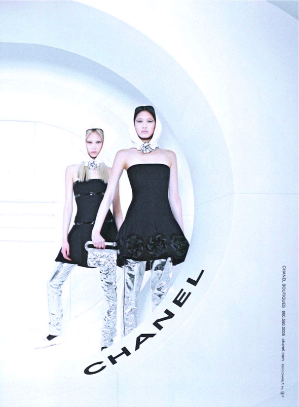 Chanel FW Hiver 2013 2014 Pub Campaign 6 - Chanel Automne Hiver 2013 2014 : Campagne en Apesanteur