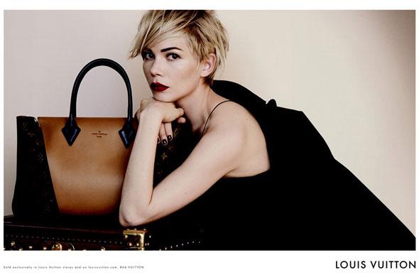 , Louis Vuitton Sacs Hiver 2013 2014 : Campagne avec Michelle Williams
