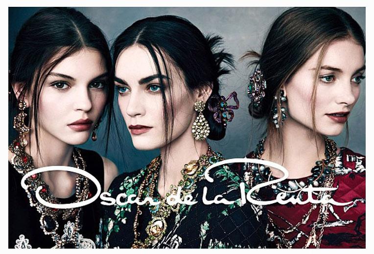 , Oscar de la Renta Hiver 2013 2014 : Le Glam Chic en Campagne