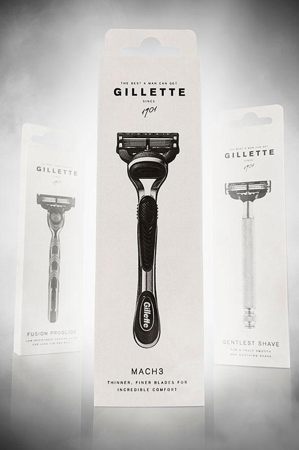 , Projet Etudiant «Gillette Rebranding» : Une Identité Visuelle plus Authentique