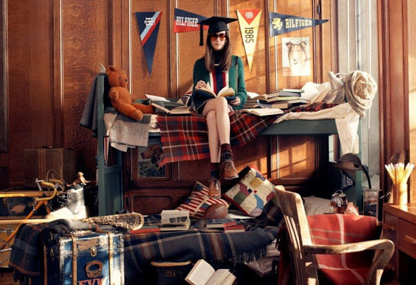 , Tommy Hilfiger Hiver 2013 2014 : Campagne American Preppy