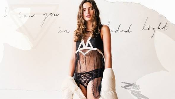 Free People fw Intimates Lingerie hiver 2013 01 - Free People Intimates Rentre 2013 : Lookbook Lingerie avec Alyssa Miller