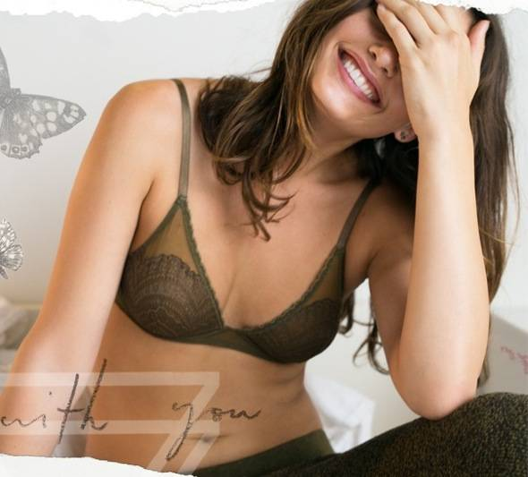 Free People fw Intimates Lingerie hiver 2013 10 - Free People Intimates Rentre 2013 : Lookbook Lingerie avec Alyssa Miller