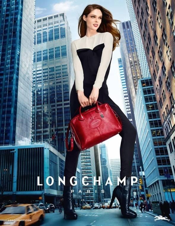 , Campagne Longchamp Hiver 2013 2014 : Coco Rocha Gulliver à NYC (video)