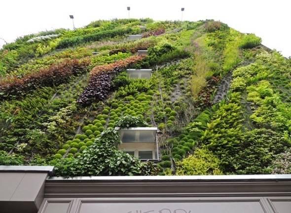 , Mur Végétal par Patrick Blanc : l'Oasis d'Aboukir au coeur de Paris 2e