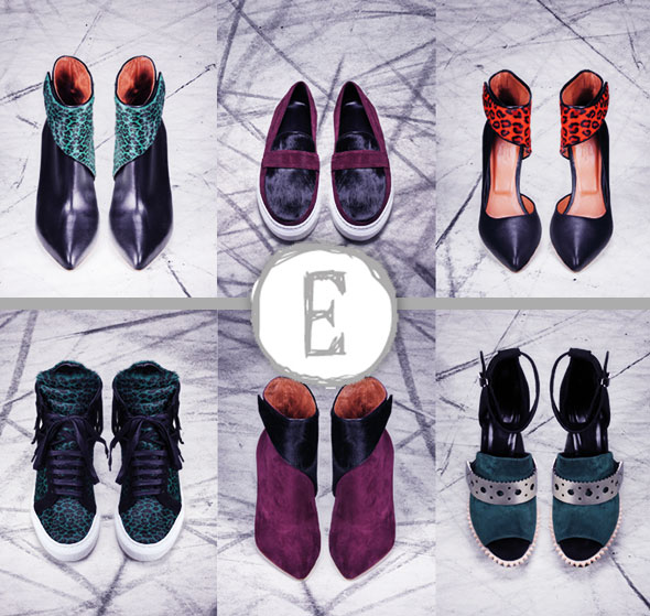 Eugene Riconneaus Femme Chaussures FW Hiver 2013 2014 0 - Chaussures Eugene Riconneaus : Lookbook Hiver 2013 2014