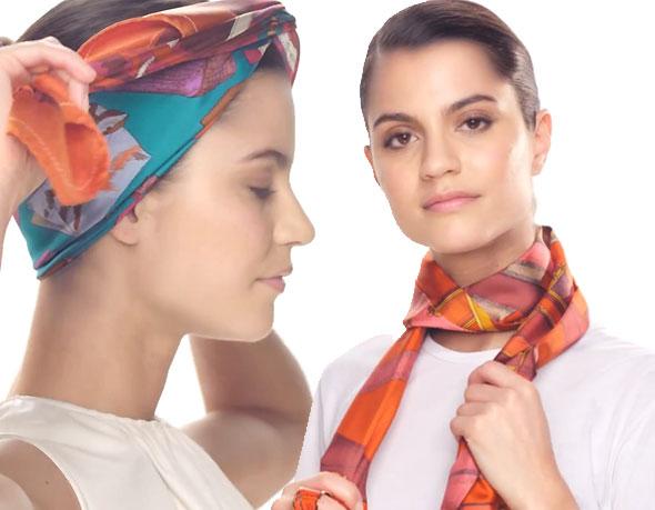, Hermés Silk Knots iPhone iPad : Comment Nouer son Carré de Soie (gratuit)