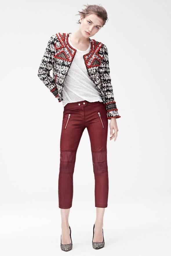 , Isabel Marant x H&M Hiver 2013 2014 : Un Lookbook Douillet