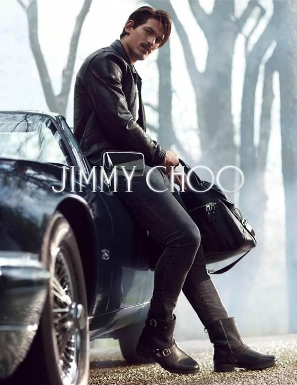 , Jimmy Choo Homme Hiver 2013 2014 : Campagne avec Jarrod Scott (video)