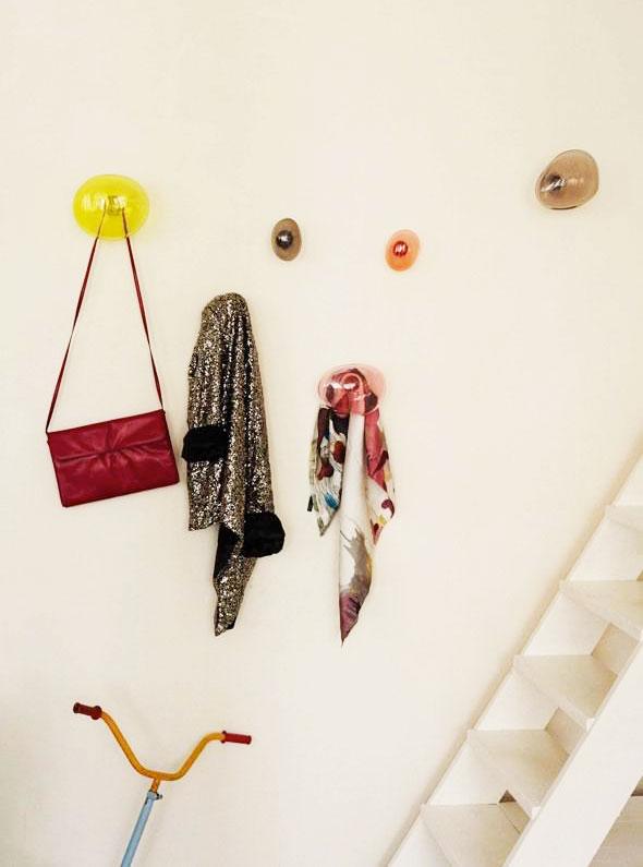 , Patères Bubble par Vaulot & Dyevre :  Bulles de Savon au Mur