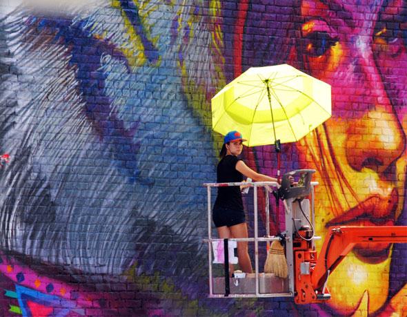 , Illustrations par Natalia Rak : Street Art Poétiquement Correct