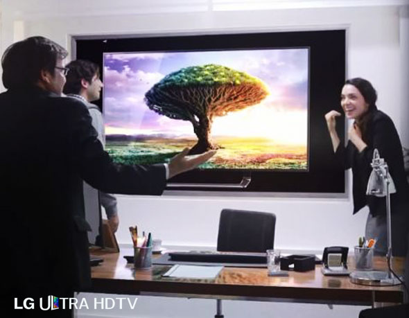, Pub LG Ultra HDTV 84″ : La Fin du Monde en Caméra Cachée (vidéo)