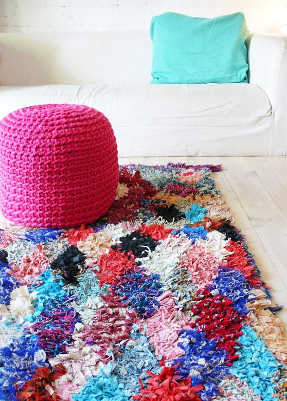 Tapis Boucherouite En Crochet Par La Casa De Coto Maxitendance