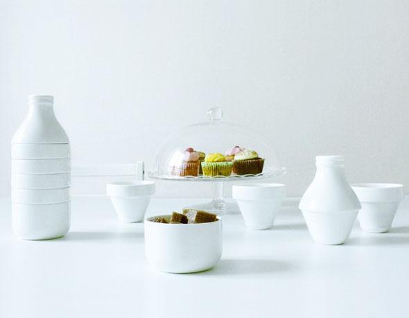 WithMilk par Doiy Design : Service à Café en Forme de Bouteille de ...