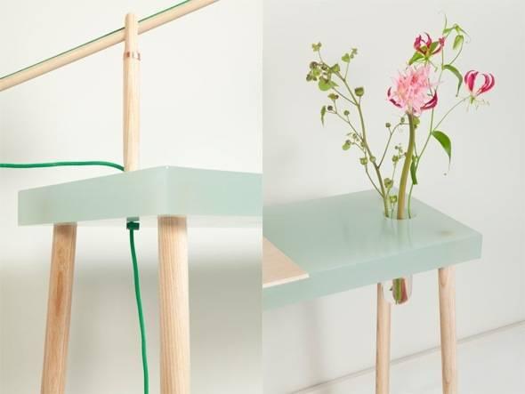 , Writing Table par Roel Huisman : Bureau Ecolo en Bois et Résine