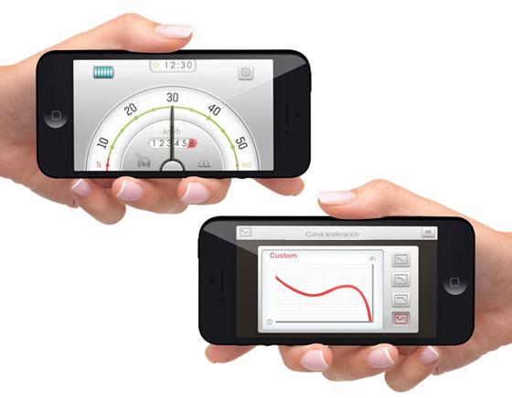 , Velo Electrique Xkuty One Bike : Un Design pour iPhone et Smartphones