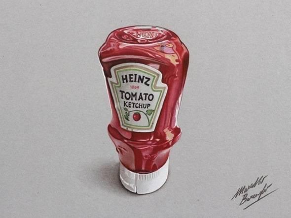Dessins Par Marcello Barenghi Realisme 3d Aux Crayons De Couleurs