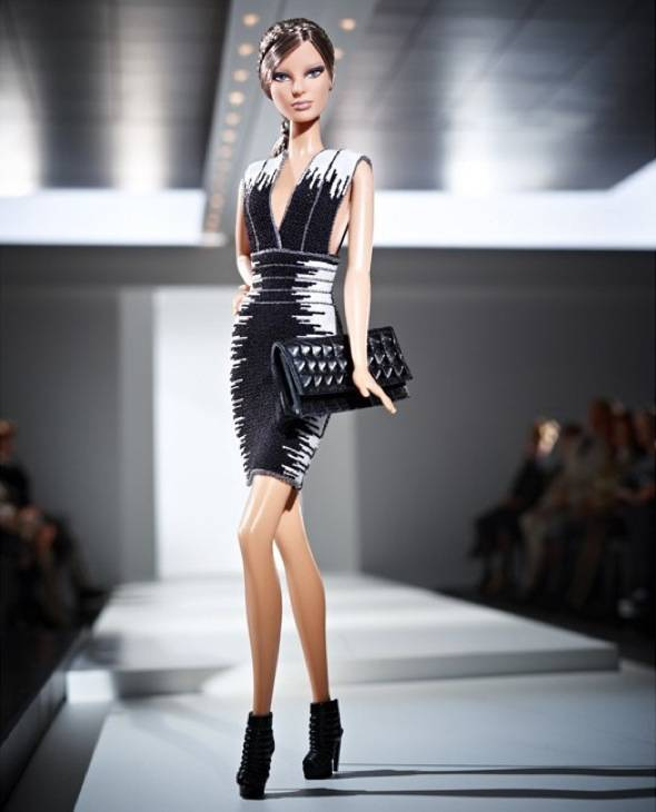 , Hervé Léger by Max Azria : Poupee Barbie Fashion et Collector