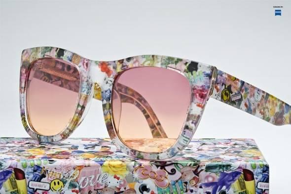eadfab8d811c1d Super Sunglasses x Hello Kitty   Lunettes de Soleil en Edition Girly ...