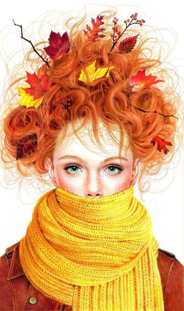 Illustrations Par Morgan Davidson Portraits Realistes Aux Crayons
