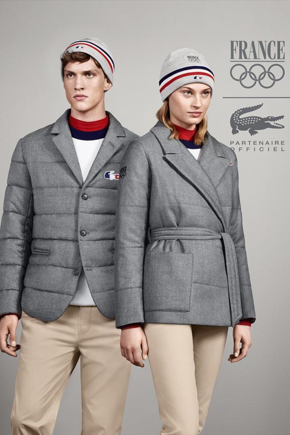, Lacoste Partenaire Officiel des JO de Sochi 2014 et de Rio 2016