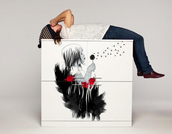 , Mobilier HOLLO Italie : Personnalisation Graphique et Artistique