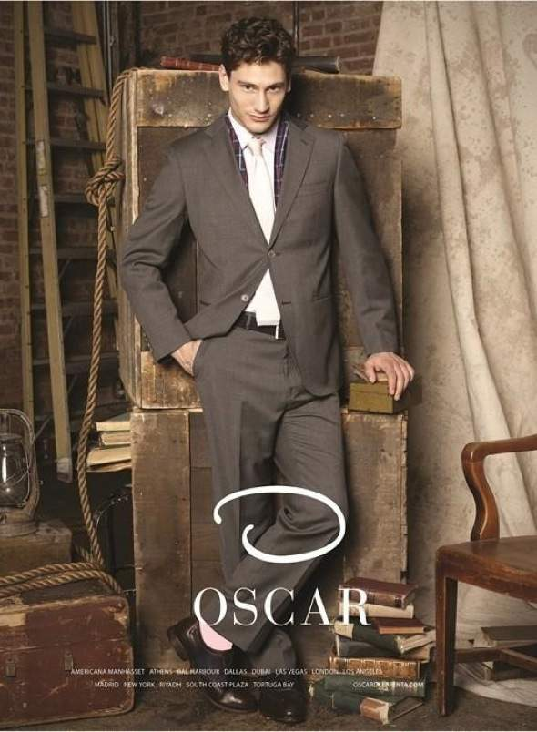 , O Oscar par Oscar de la Renta : Campagne Homme Hiver 2013 2014