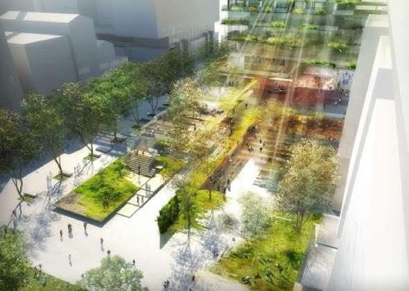 , Plus Grand Jardin Vertical au Monde à Sydney par Patrick Blanc