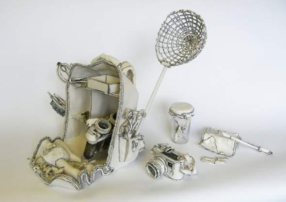, Porcelaine par Katharine Morling : Entre Sculpture et Dessin en Céramique