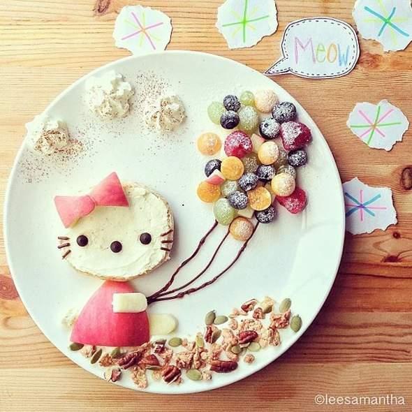 , Food Art Créatif par Samantha Lee : Adorables Petits Plats pour les Enfants