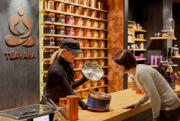 , Teavana Fine Teas & Tea Bar : Salon de Thé Chic signé Starbucks