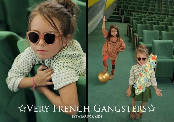 , Very French Gangsters Hiver 2013 2014 : Lunettes Enfants Made in France