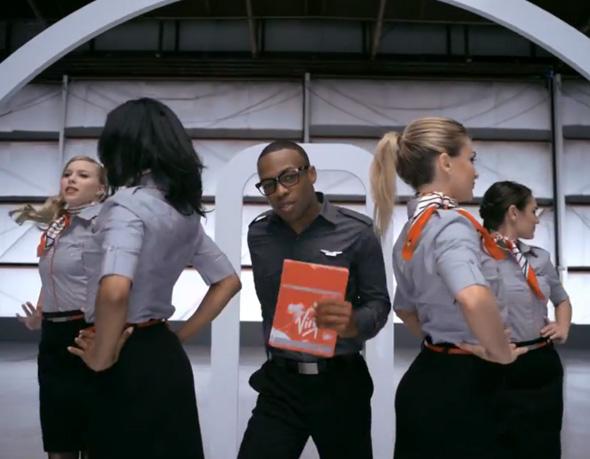 , Virgin America Safety : Clip Musical pour Consignes de Sécurité en Vol (video)