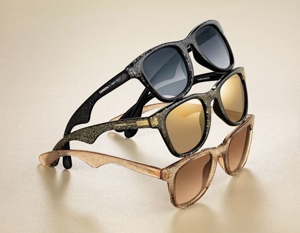 carrera jimmy choo collection lunettes soleil femme rock chic