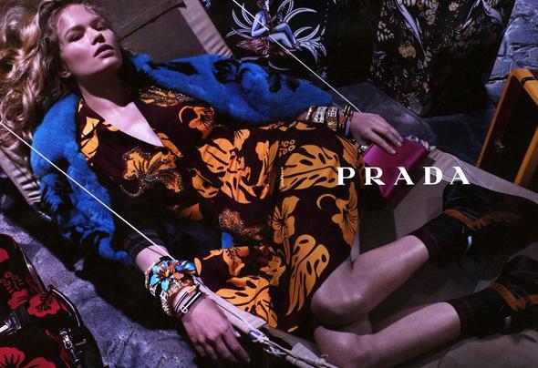 , Anna Luisa Ewers pour Prada Resort 2014 Campagne