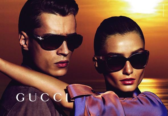 , Campagne Gucci Cruise 2014 sous le Soleil de l'Elegance