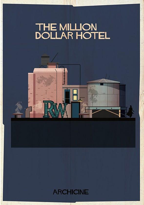 , ArchiCine par Federico Babina : Architectures de Films Cultes