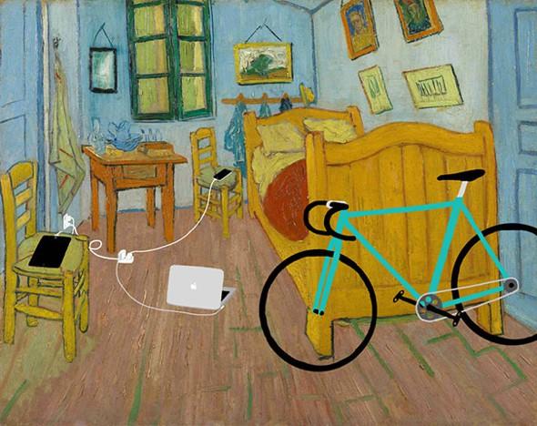 , Illustrations par Kim Dong-Kyu : Gadgets High Tech et Toiles de Maitres
