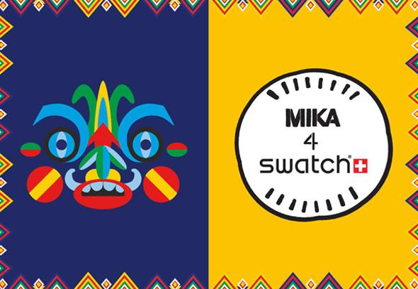 Montres Swatch New Gen Kukulakuki Mika 4 - Montres Swatch Gen Kukulakuki Signées du Chanteur Mika