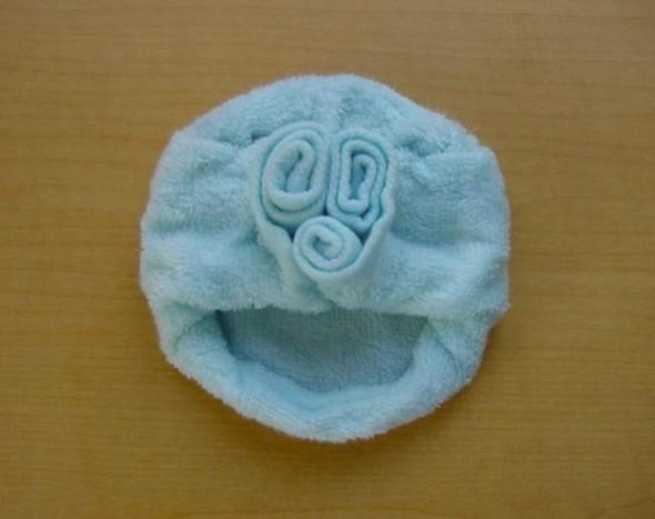 Pliage Serviettes Toilette Animaux Isamu Sasagawa japon 09 - Pliage de Serviettes de Toilette en Adorables Doudous (video)