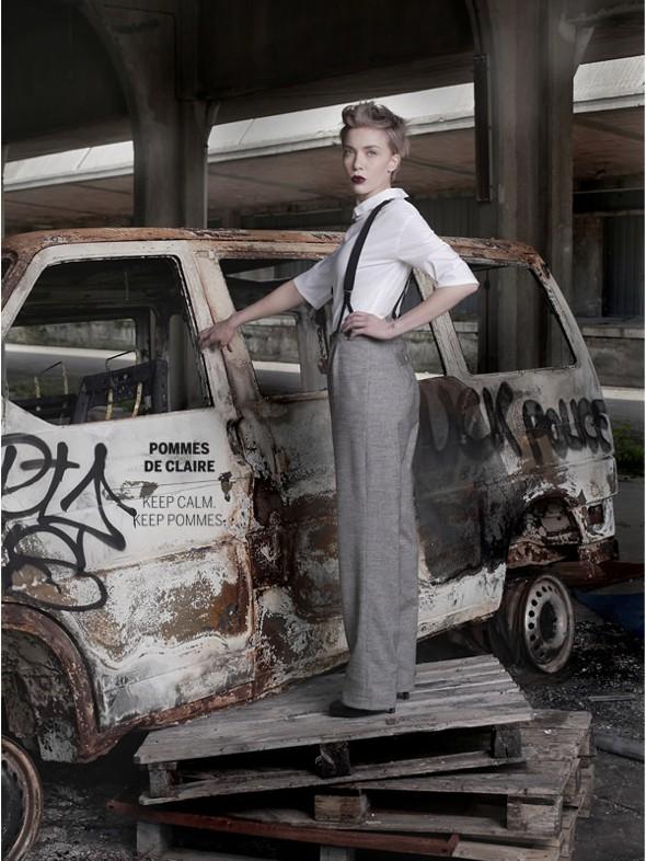 , Pommes de Claire Hiver 2013 2014 : Campagne Urban Chic