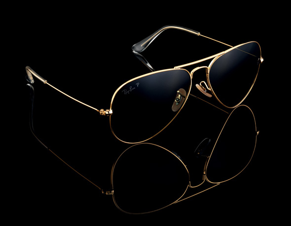 Solaires Ray Ban Aviator Solid Gold   Edition Limitée OR Pur 18 ... 4b9763575d57