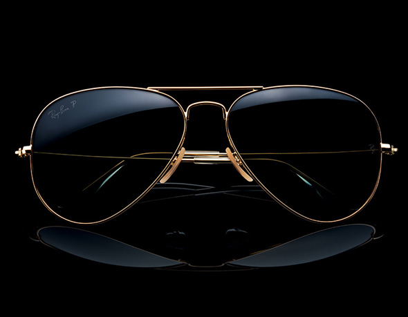 Solaires Ray Ban Aviator Solid Gold   Edition Limitée OR Pur 18 ... 3f02af8d29b0