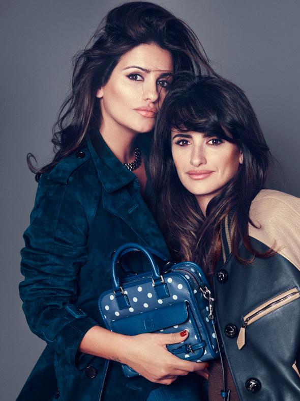 , Campagne Sacs Cruz Loewe signés Penelope & Monica