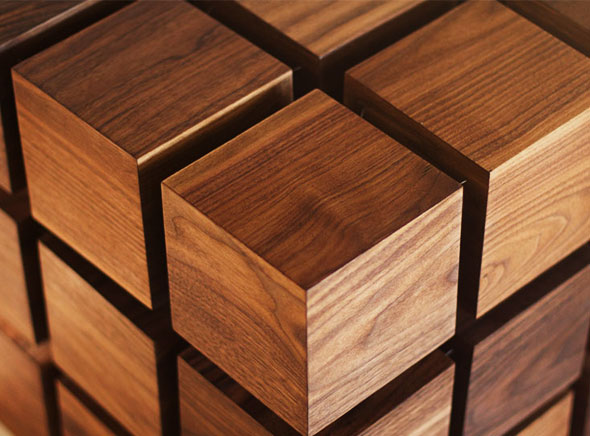 , RPR Float Table par RockPaperRobot : Etonnante Table Rubiks Cube Flottante