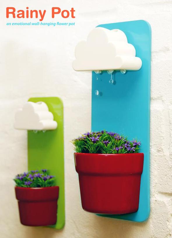 , Rainy Pot, Retour du Petit Pot de Fleur et son Nuage Arroseur (video)
